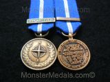MINIATURE NATO NON ARTICLE 5 BALKANS MEDAL